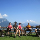 Chilling out above Lago di Como