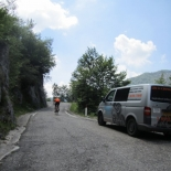On the trail of the Giro d'Italia to Bergamo