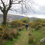 Singletrack descent to Ennerdale