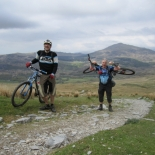 Near the top of Walna Scar Road