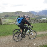 Starting the loop around Loweswater