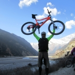 In the Kali Gandaki - the deepest valley on the planet