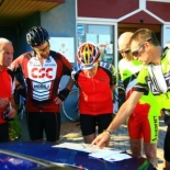 Pre Ride Briefing - pic by Cliff Thornton