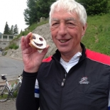 Happy biscuits - all smiles after the Via Tremola