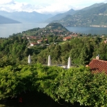 A room with a view overlooking Lago di Como