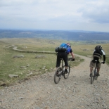 Starting the Walna Scar descent