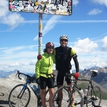 Top of the Galibier - Pic by Cliff Thornton