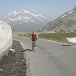 Scaling l'Iseran - Pic by Cliff Thornton