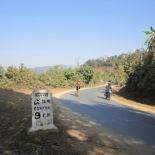 The road climb to Ghorka